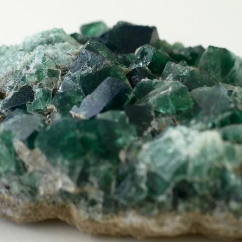 cubic green fluorite