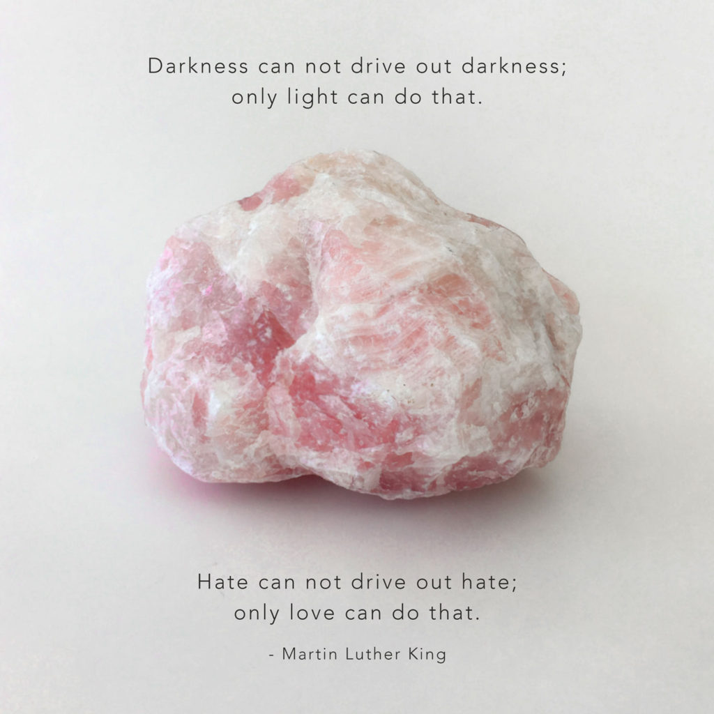 rose quartz martin luther king place 8 healing