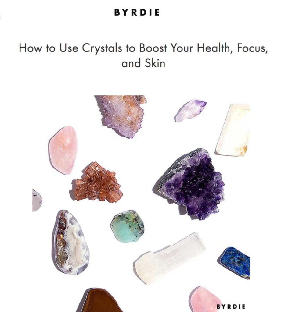 Place 8 Healing - Byrdie - Healing Crystals in Los Angeles