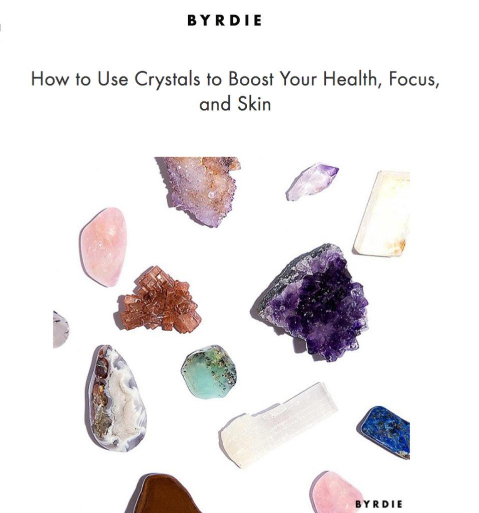 Place 8 Healing - Byrdie - Healing Crystals in Los Angeles