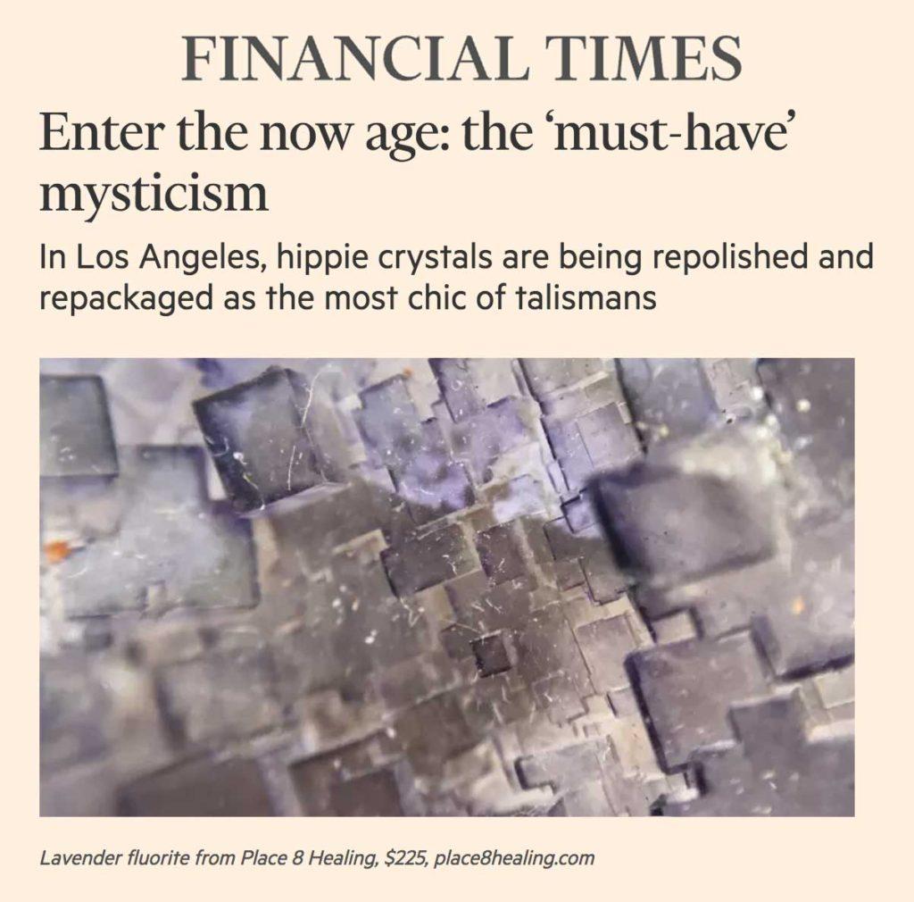 Place 8 Healing Financial Times Crystal Healing